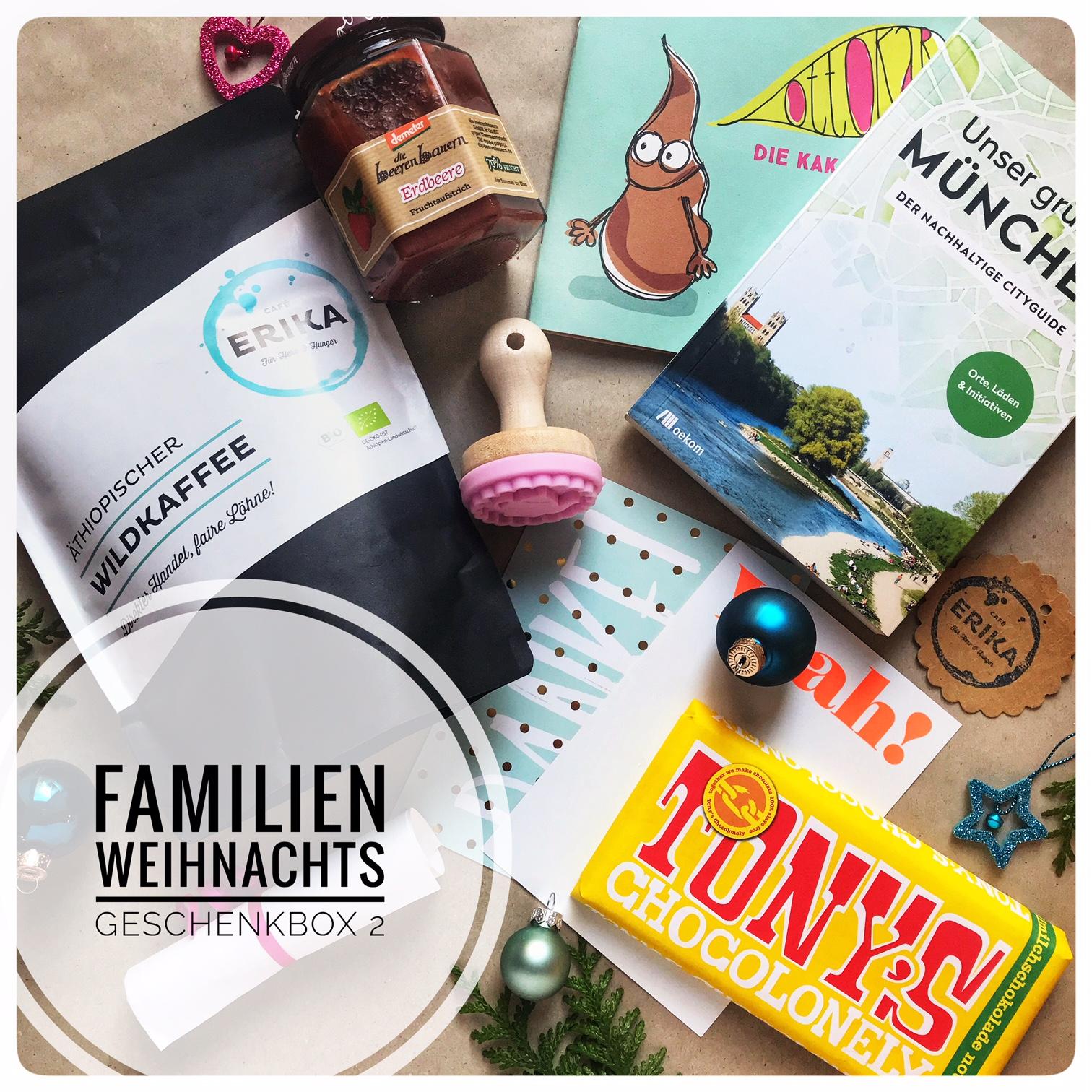 Geschenkbox für Familie und Freunde